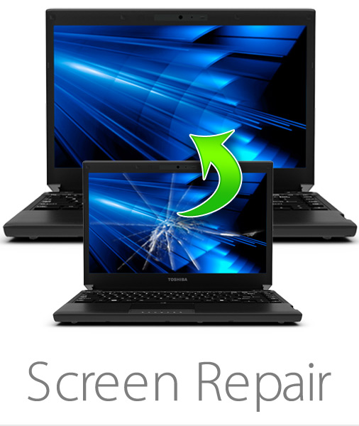 Gwireless Laptop screen replacment. Call For Pricing